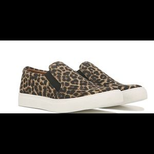 Report slip on animal print sneakers. NIB